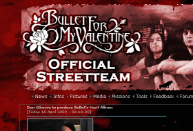 Bullet For My Valentine Official Streetteam