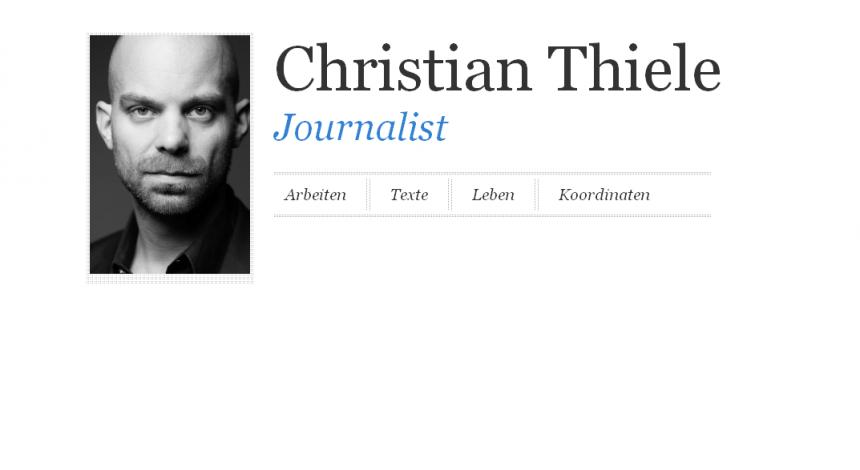 Christian Thiele - Start