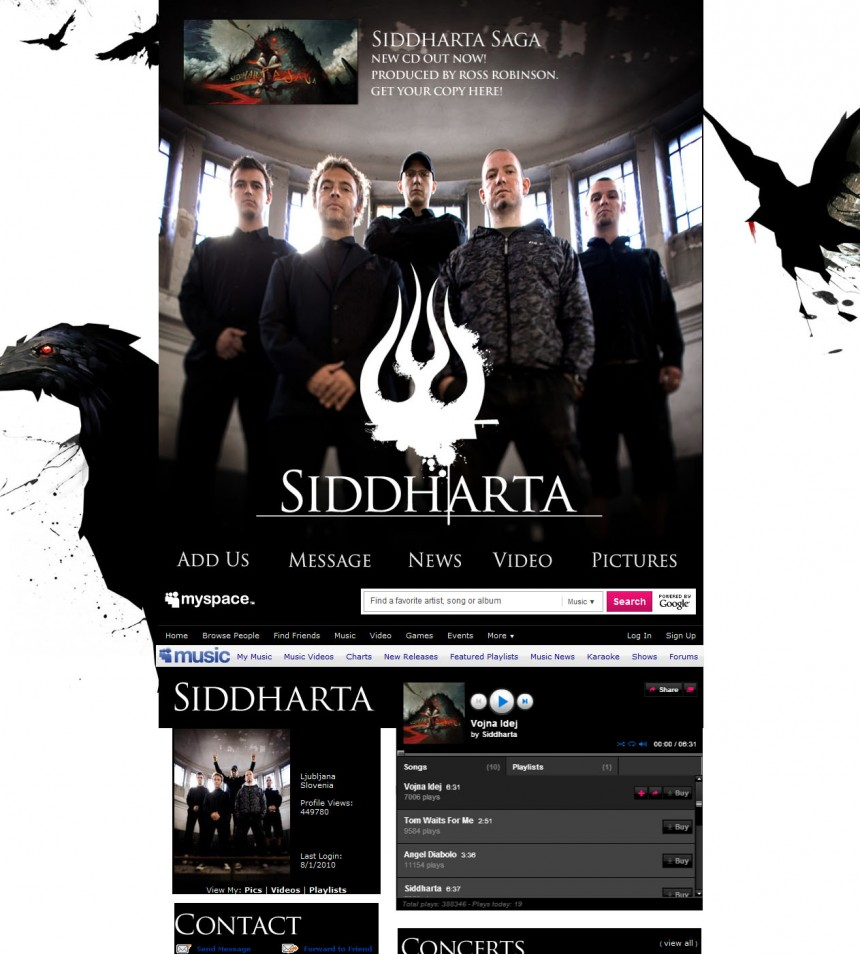Siddharta Myspace